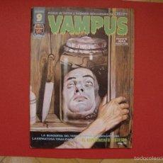 Cómics: CÓMIC VAMPUS (SUPERCOMICS, Nº 63) (ED. GARBO, 1976) CON PÓSTER CENTRAL. ORIGINAL. ¡COLECCIONISTA!. Lote 58219976