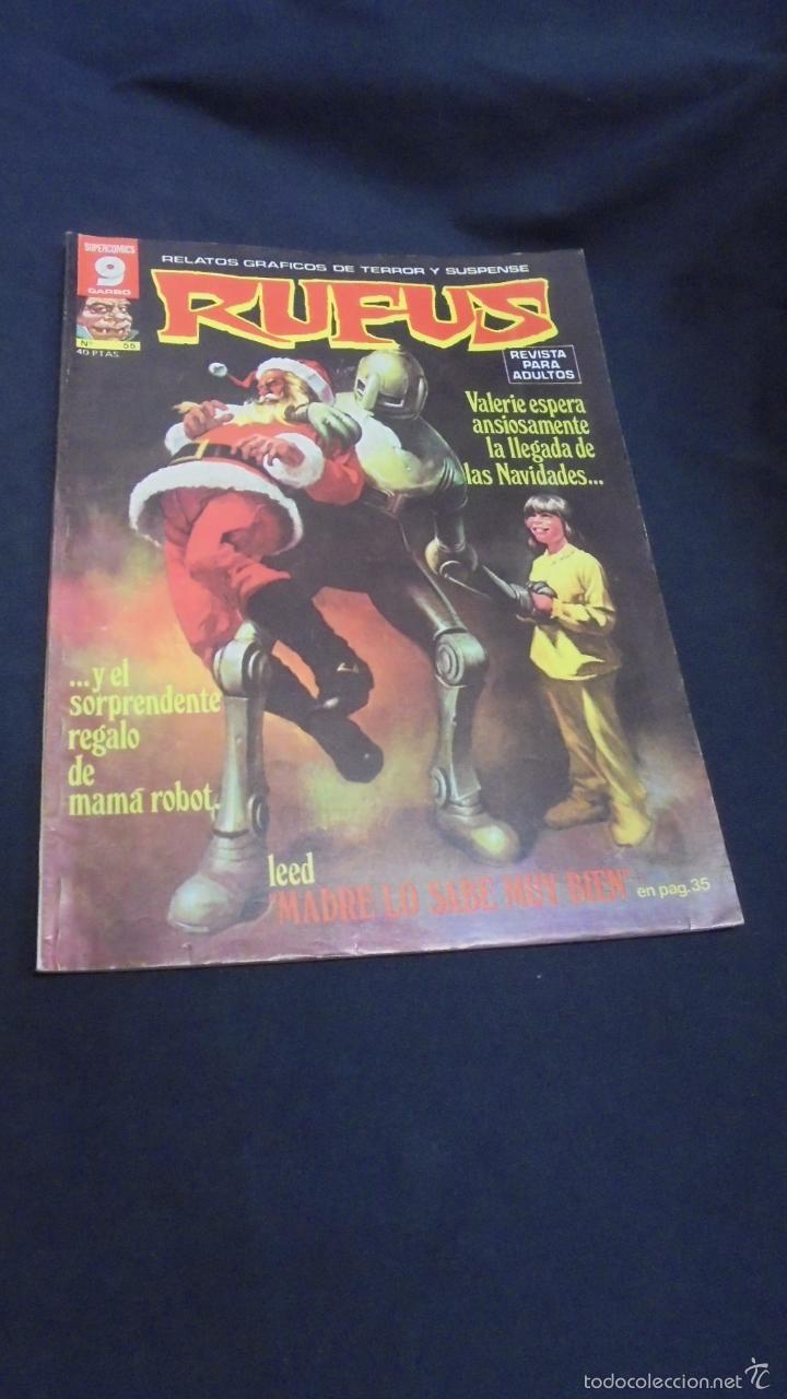 RUFUS - Nº 55 - GARBO - GR (Tebeos y Comics - Garbo)