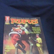 Cómics: RUFUS - Nº 55 - GARBO - GR. Lote 58462166