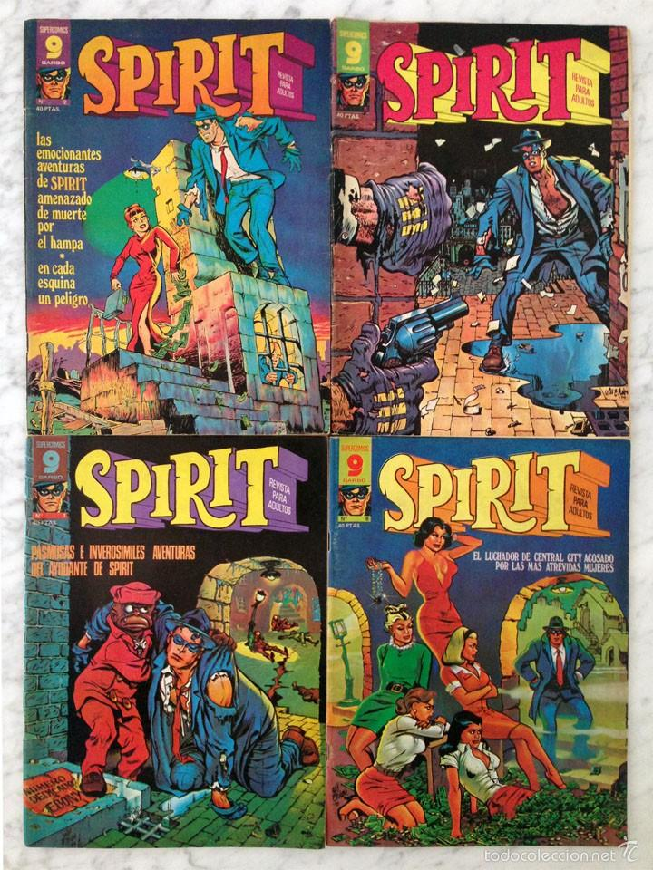 SPIRIT - LOTE DE 4 CÓMICS - NºS 2-6-7-8 - GARBO (Tebeos y Comics - Garbo)