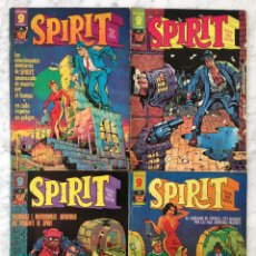Cómics: SPIRIT - LOTE DE 4 CÓMICS - NºS 2-6-7-8 - GARBO. Lote 58549360
