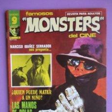 Cómics: FAMOSOS MONSTERS DEL CINE Nº 15 ¡¡¡¡MUY BUEN ESTADO Y DIFICIL!!!, GARBO FAMON TORRENS. Lote 58600877