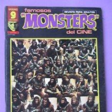 Cómics: FAMOSOS MONSTERS DEL CINE Nº 12 ¡¡ BASTANTE BUEN ESTADO Y DIFICIL!!!, GARBO RICHARD CORBEN. Lote 58601160