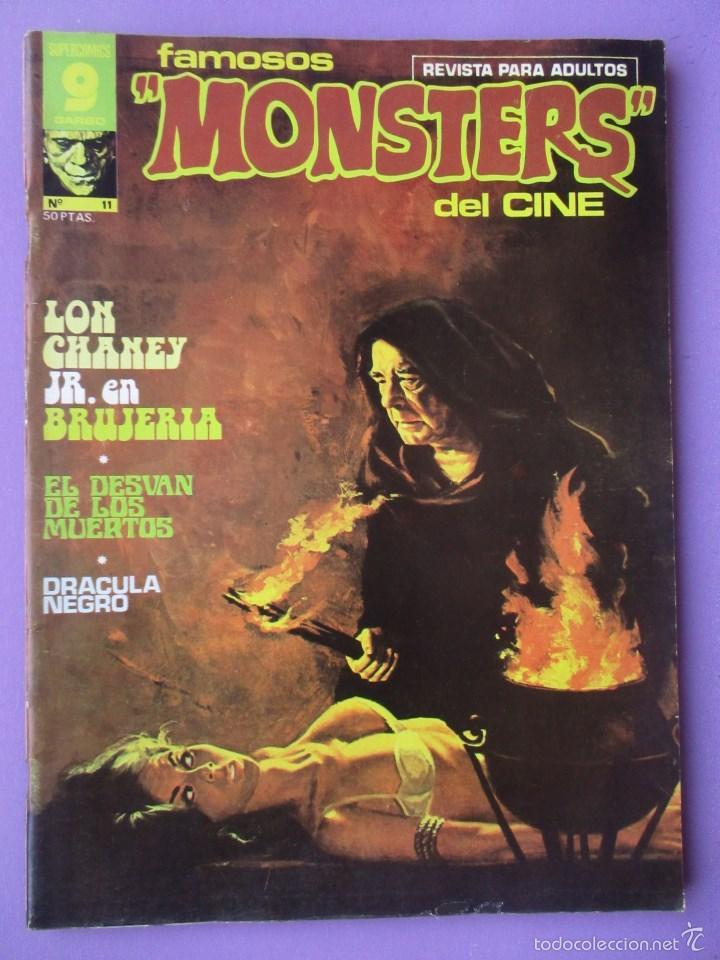 FAMOSOS MONSTERS DEL CINE Nº 11 ¡¡ MUY BUEN ESTADO Y DIFICIL!!!, GARBO RICHARD CORBEN (Tebeos y Comics - Garbo)