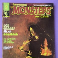 Cómics: FAMOSOS MONSTERS DEL CINE Nº 11 ¡¡ MUY BUEN ESTADO Y DIFICIL!!!, GARBO RICHARD CORBEN. Lote 58601242