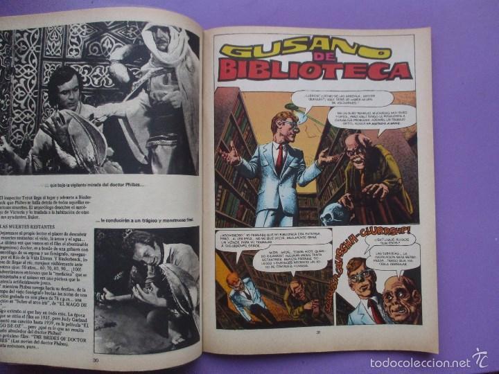 Cómics: FAMOSOS MONSTERS DEL CINE Nº 11 ¡¡ MUY BUEN ESTADO Y DIFICIL!!!, GARBO RICHARD CORBEN - Foto 4 - 58601242
