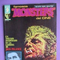Cómics: FAMOSOS MONSTERS DEL CINE Nº 9 ¡¡ BASTANTE BUEN ESTADO Y DIFICIL!!!, GARBO ESTEBAN MAROTO. Lote 58601365
