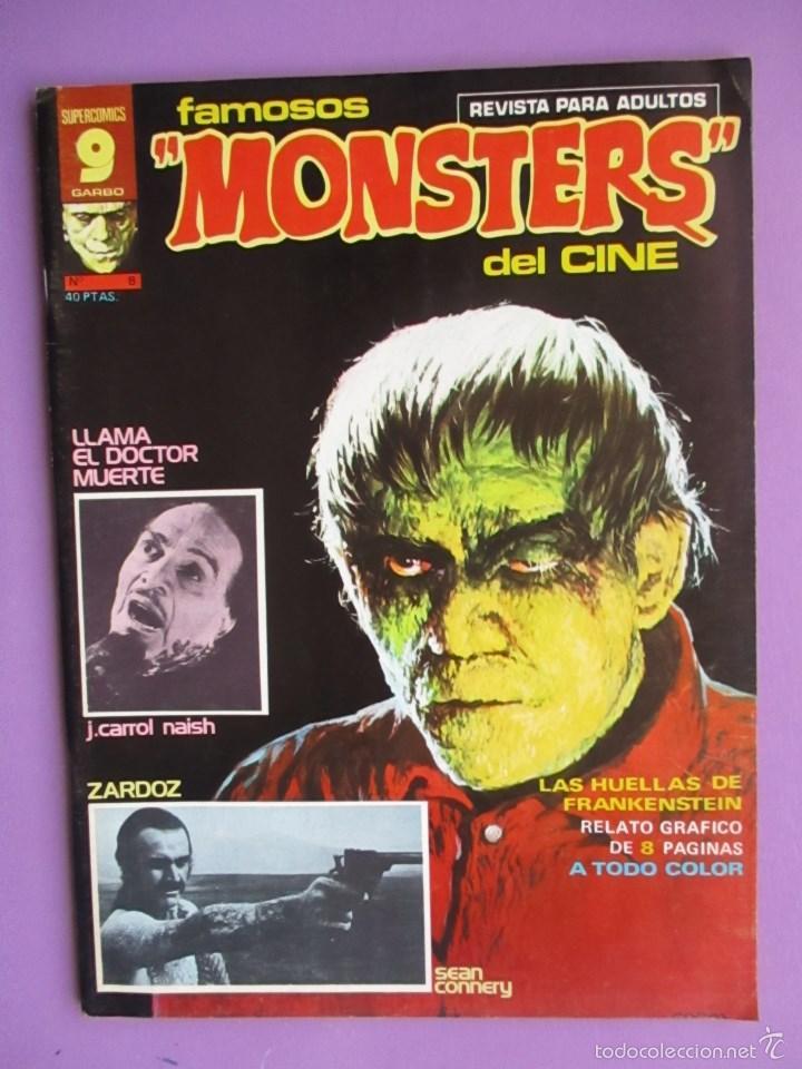 FAMOSOS MONSTERS DEL CINE Nº 8 ¡¡ MUY BUEN ESTADO !!!, GARBO REED CRANDALL (Tebeos y Comics - Garbo)
