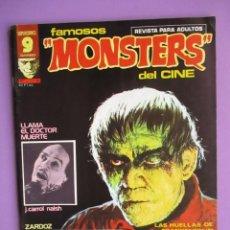Cómics: FAMOSOS MONSTERS DEL CINE Nº 8 ¡¡ MUY BUEN ESTADO !!!, GARBO REED CRANDALL. Lote 58601438