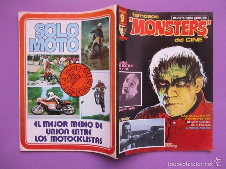 Cómics: FAMOSOS MONSTERS DEL CINE Nº 8 ¡¡ MUY BUEN ESTADO !!!, GARBO REED CRANDALL - Foto 4 - 58601438