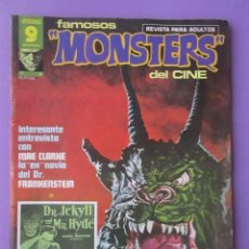 Cómics: FAMOSOS MONSTERS DEL CINE Nº 6 ¡¡ BUEN ESTADO !!!, GARBO RICHARD CORBEN. Lote 58601985