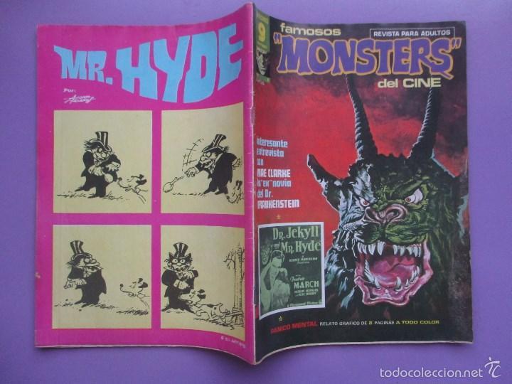 Cómics: FAMOSOS MONSTERS DEL CINE Nº 6 ¡¡ BUEN ESTADO !!!, GARBO RICHARD CORBEN - Foto 3 - 58601985