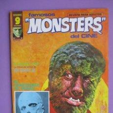 Cómics: FAMOSOS MONSTERS DEL CINE Nº 4 ¡¡EXCELENTE ESTADO !!!, GARBO RICHARD CORBEN. Lote 58602018