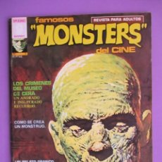 Cómics: FAMOSOS MONSTERS DEL CINE Nº 3 ¡¡BUEN ESTADO !!!, GARBO RICHARD CORBEN. Lote 58602031
