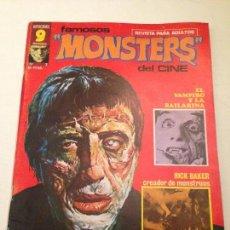 Cómics: FAMOSOS MONSTERS DEL CINE Nº 2. 1975 GARBO. ISIDRE MONES. . Lote 58780516