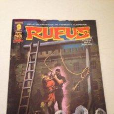 Fumetti: RUFUS Nº 41 EL VERDUGO DEL INFIERNO. 1976 IBERO MUNDIAL DE EDICIONES / GARBO EDITORIAL.. Lote 58789681