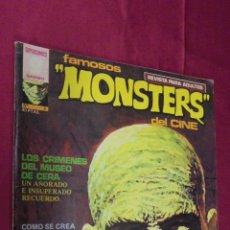 Cómics: FAMOSOS MONSTERS DEL CINE. Nº 3. GARBO. 1975.. Lote 59612819