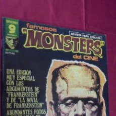 Cómics: FAMOSOS MONSTERS DEL CINE. Nº 14. GARBO. 1976.. Lote 69925834