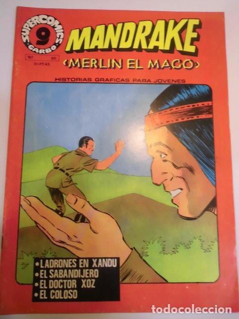 MANDRAKE EL MAGO - NUM 20 ED GARBO - 1973 - MUY BUEN ESTADO (Tebeos y Comics - Garbo)