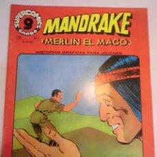 Cómics: MANDRAKE EL MAGO - NUM 20 ED GARBO - 1973 - MUY BUEN ESTADO. Lote 62766624
