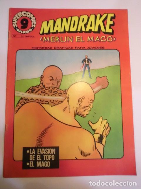 MANDRAKE EL MAGO - NUM 5 ED GARBO - 1973 - MUY BUEN ESTADO (Tebeos y Comics - Garbo)