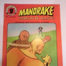 Cómics: MANDRAKE EL MAGO - NUM 5 ED GARBO - 1973 - MUY BUEN ESTADO. Lote 62766904