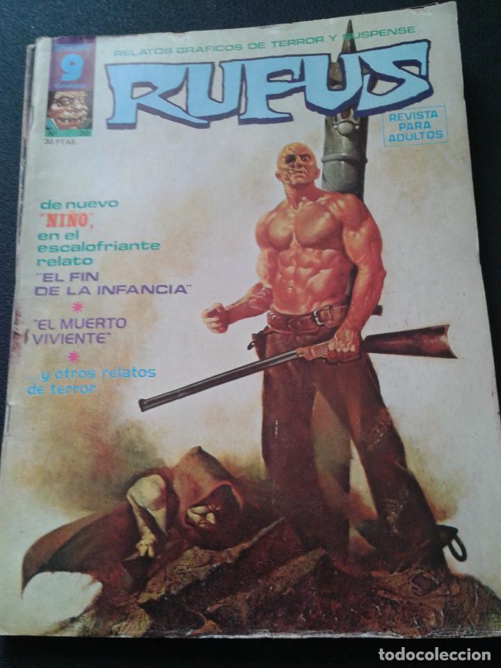 Cómics: RUFUS ** LOTE DE 6 EJEMPLARES ** NÚMEROS 27- 30- 45- 47- 50- 55 ** GARBO 1973 - Foto 3 - 64677459