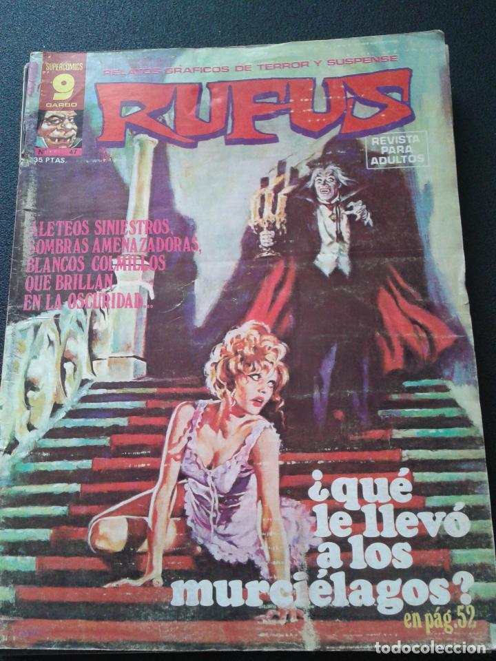 Cómics: RUFUS ** LOTE DE 6 EJEMPLARES ** NÚMEROS 27- 30- 45- 47- 50- 55 ** GARBO 1973 - Foto 5 - 64677459