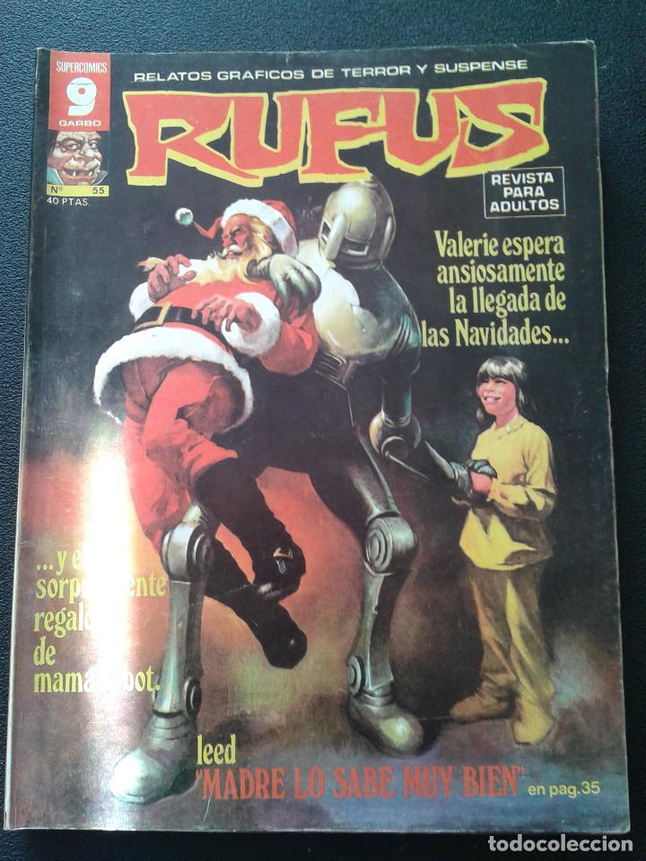 Cómics: RUFUS ** LOTE DE 6 EJEMPLARES ** NÚMEROS 27- 30- 45- 47- 50- 55 ** GARBO 1973 - Foto 6 - 64677459