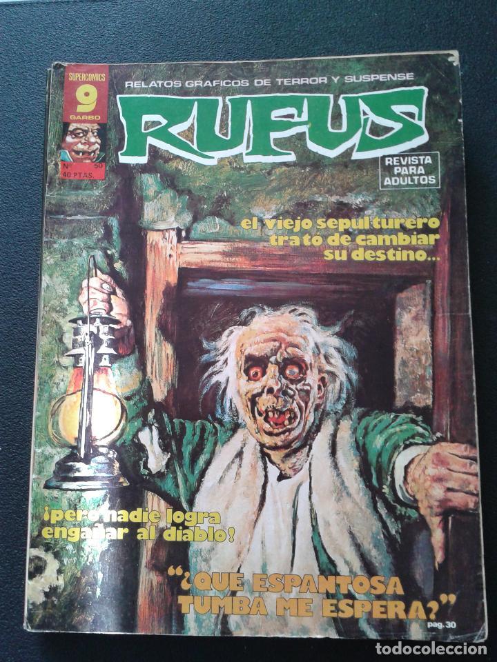 Cómics: RUFUS ** LOTE DE 6 EJEMPLARES ** NÚMEROS 27- 30- 45- 47- 50- 55 ** GARBO 1973 - Foto 7 - 64677459