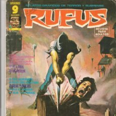 Cómics: RUFUS. Nº 27. SUPERCOMICS GARBO. (Z/C10). Lote 64770127