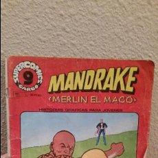 Cómics: COMIC GARBO SUPER COMICS Nº 5 MANDRAKE MERLIN EL MAGO. Lote 65889482