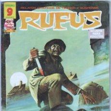 Cómics: RUFUS Nº 26 EXCELENTE ESTADO. Lote 71622327