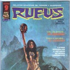 Cómics: RUFUS Nº 28 EXCELENTE ESTADO. Lote 71622455