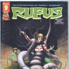 Cómics: RUFUS Nº 31 BUENA CONSERVACION. Lote 71622483