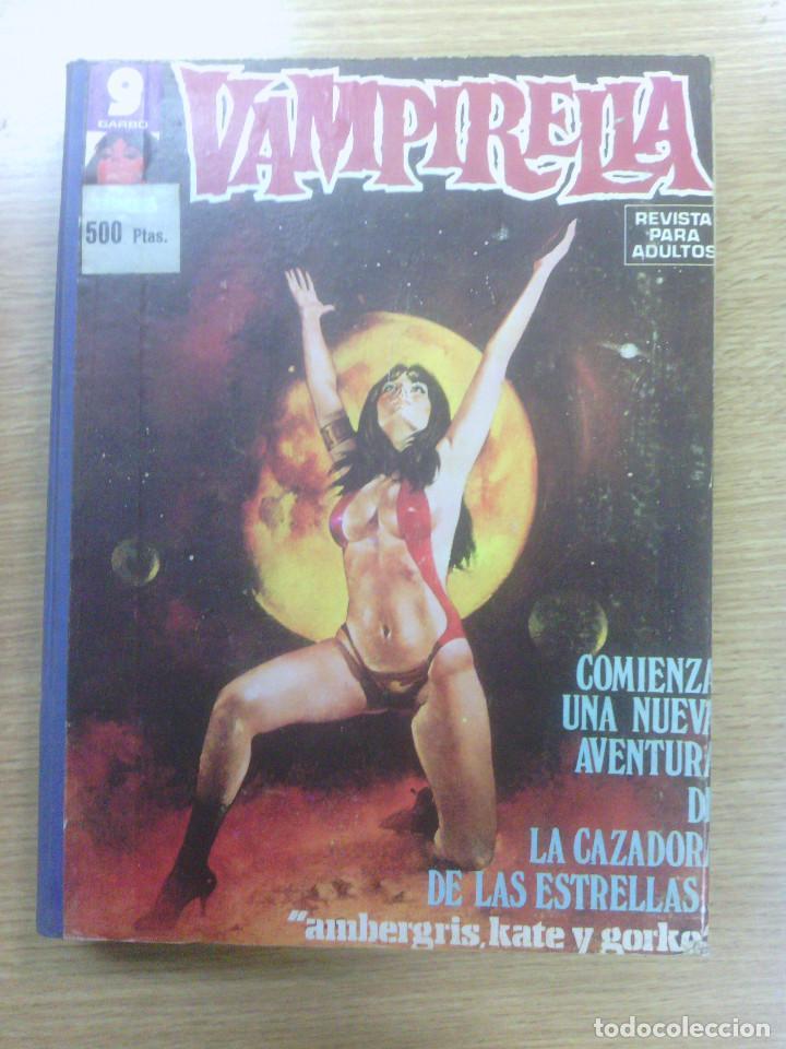 VAMPIRELLA TOMO (NUMEROS 29, 8, 10, 11, 14, 15 Y 23) (Tebeos y Comics - Garbo)