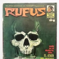 Cómics: RUFUS NÚMERO 22. RELATOS GRÁFICOS DE TERROR Y SUSPENSE. EDITORIAL GARBO.. Lote 77891057
