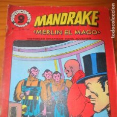 Cómics: MANDRAKE, MERLIN EL MAGO Nº 11 - SUPERCOMICS GARBO -. Lote 78856213