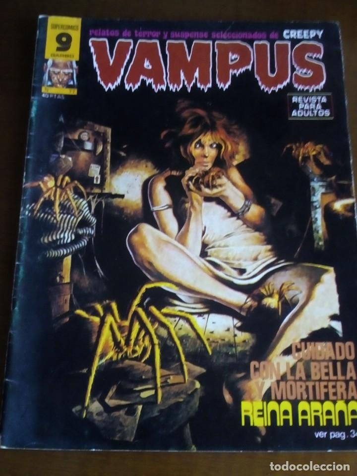 VAMPUS N 77 ULTIMO NUMERO (Tebeos y Comics - Garbo)