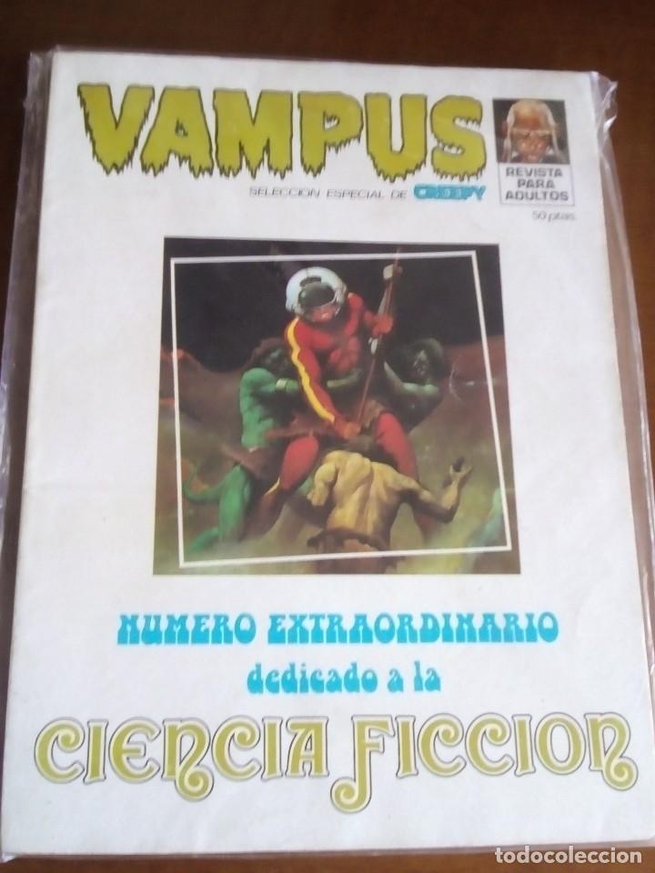 VAMPUS NUMERO EXTRAORDINARIO DIFICIL (Tebeos y Comics - Garbo)