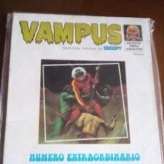 Cómics: VAMPUS NUMERO EXTRAORDINARIO DIFICIL. Lote 80431877