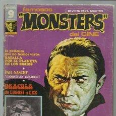Cómics: FAMOSOS MONSTERS DEL CINE 1, 1975. RICHARD CORBEN. Lote 80935804