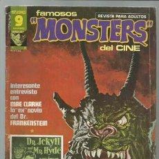 Cómics: FAMOSOS MONSTERS DEL CINE 6, 1975. RICHARD CORBEN. Lote 80938776
