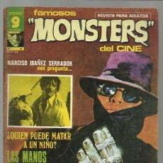 Cómics: FAMOSOS MONSTERS DEL CINE 15, 1976, BUEN ESTADO. . Lote 159028736