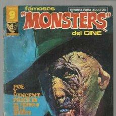 Comics: FAMOSOS MONSTERS DEL CINE 17, 1976, BUEN ESTADO. . Lote 81212412