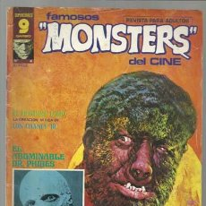 Cómics: FAMOSOS MONSTERS DEL CINE 4, 1975. BUEN ESTADO. RICHARD CORBEN.. Lote 81212840