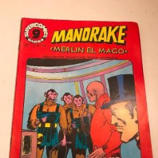Cómics: SUPERCOMICS GARBO Nº 11. MANDRAKE. MERLIN EL MAGO. GARBO 1976. Lote 83595484