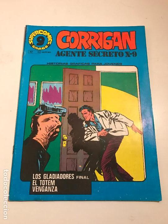 SUPERCOMICS GARBO Nº 15. CORRIGAN. AGENTE SECRETO X-9. GARBO 1976 (Tebeos y Comics - Garbo)