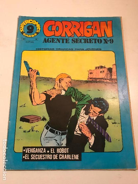SUPERCOMICS GARBO Nº 18. CORRIGAN. AGENTE SECRETO X-9. GARBO 1976 (Tebeos y Comics - Garbo)