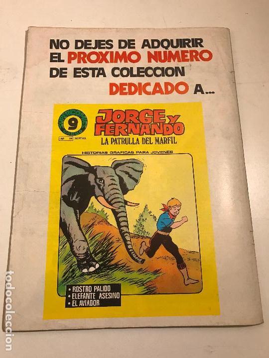 Cómics: SUPERCOMICS GARBO Nº 18. CORRIGAN. AGENTE SECRETO X-9. GARBO 1976 - Foto 3 - 83596740